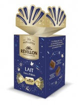 Grand cadeau de table chocolat au lait